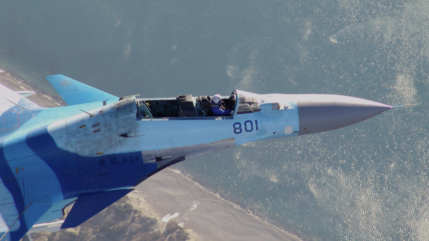 """硬核!俄罗斯空军倒飞拦截美军飞机,还认为美军抗议""""小题大做"""""""