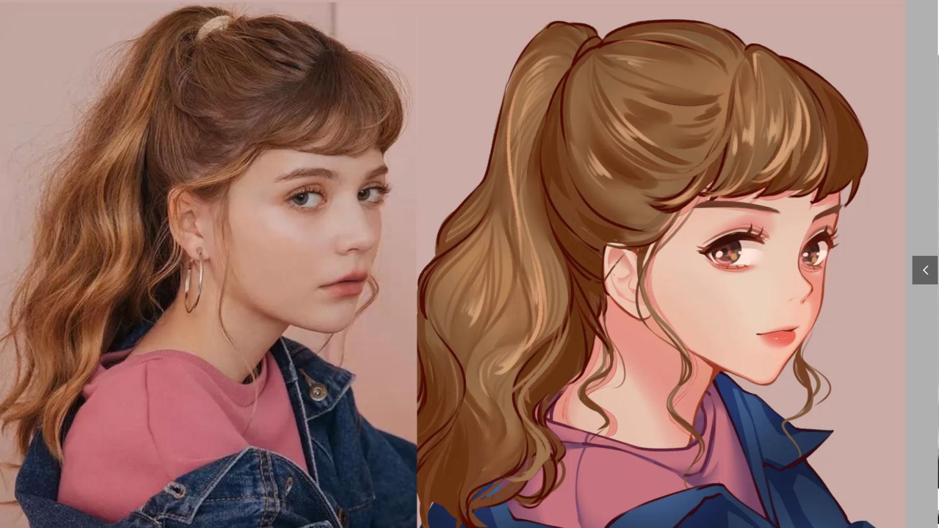 【PS绘画】教你如何绘画漂亮的小姐姐,从线稿到上色到厚涂#赛璐璐