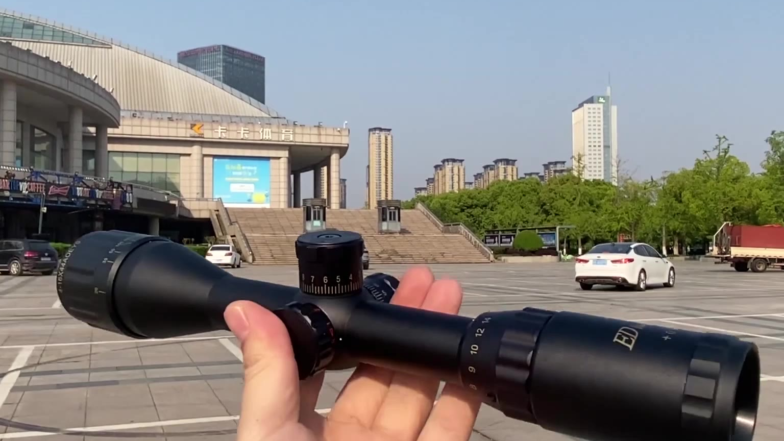 230元买的16倍镜3千米实测,一切尽收眼底,还要啥望远镜!