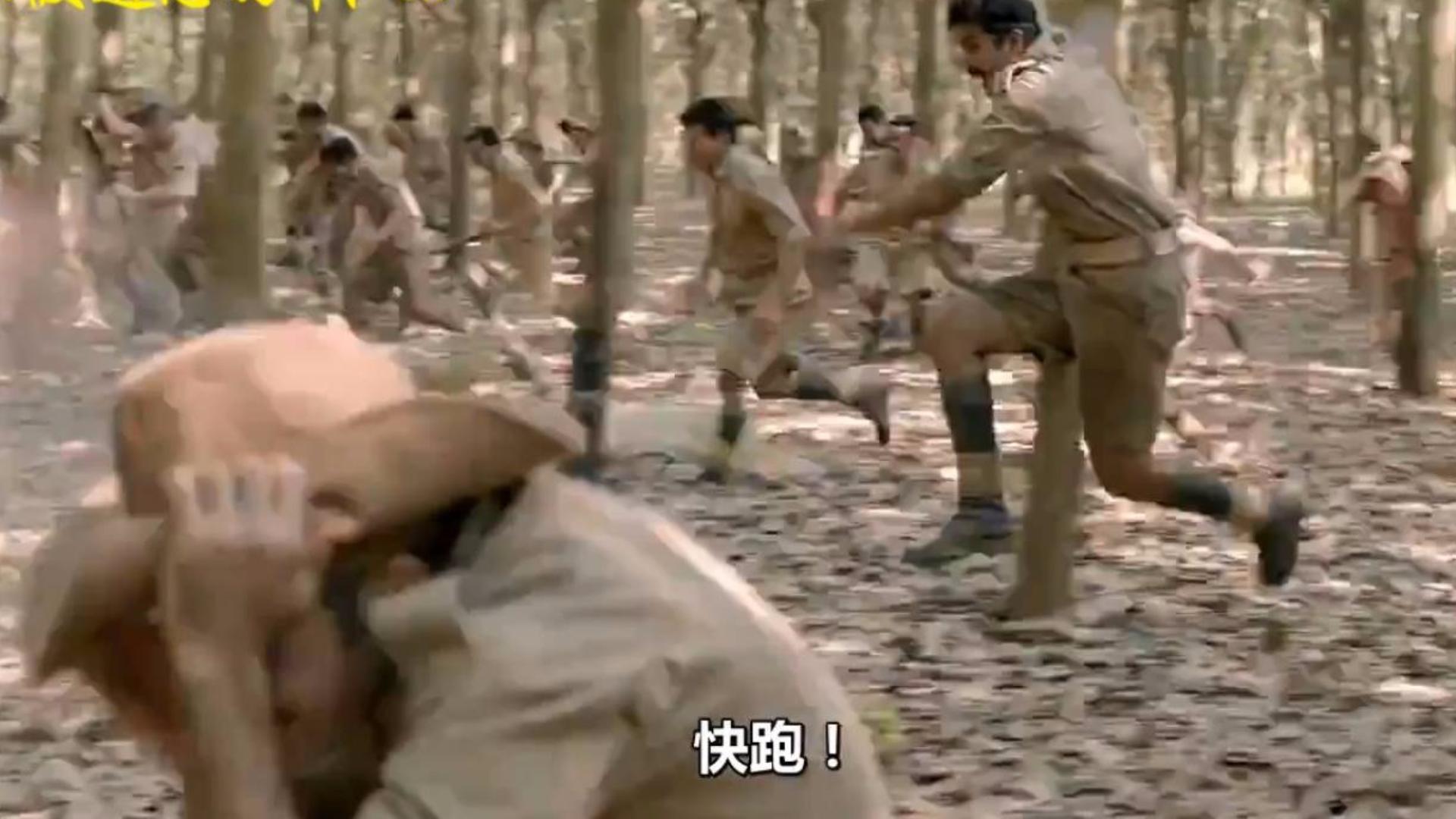 【战争影视合集】纸糊的阿三军营,几个人能打穿,几百人被撵着跑~