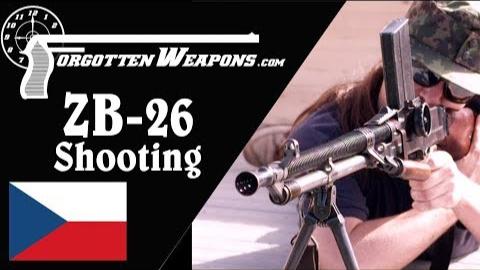 【被遗忘的武器/双语】间战轻机枪的瑰宝--ZB-26靶场试射