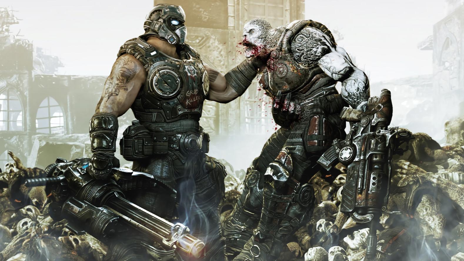 【达奇】你怎么回事,小老弟?弹尽粮绝的人类如何力挽狂澜-战争机器剧情