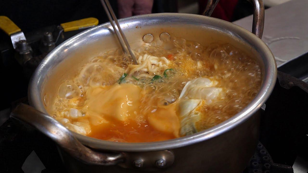 韩国一碗泡面能卖到3500韩元,大妈煮了十几年的泡面,每天得卖上百锅!