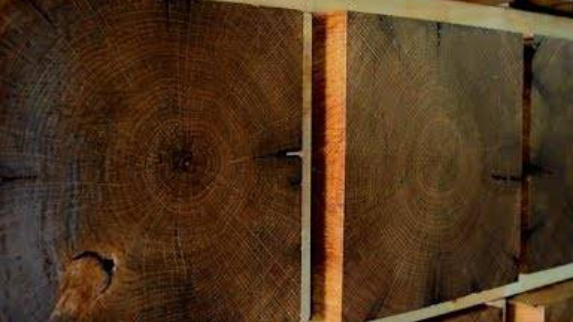 橡木墙壁装饰