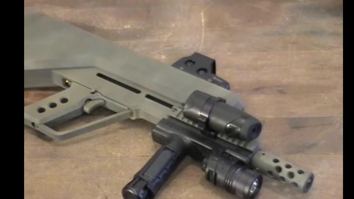 P3公司的警用BB枪 Strafer Mark 4