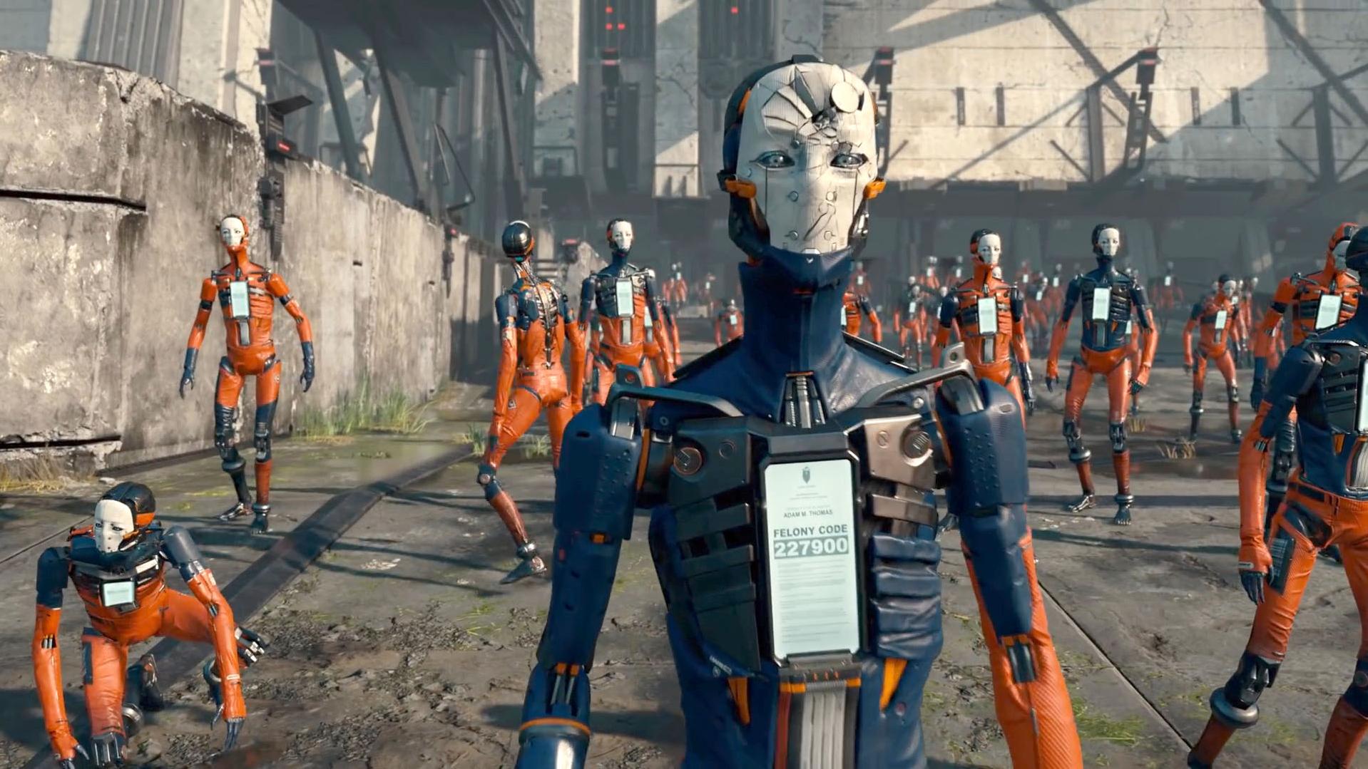 在未来,人类只要犯罪,就会被清除记忆,改造成机器人!速看科幻短片《亚当》