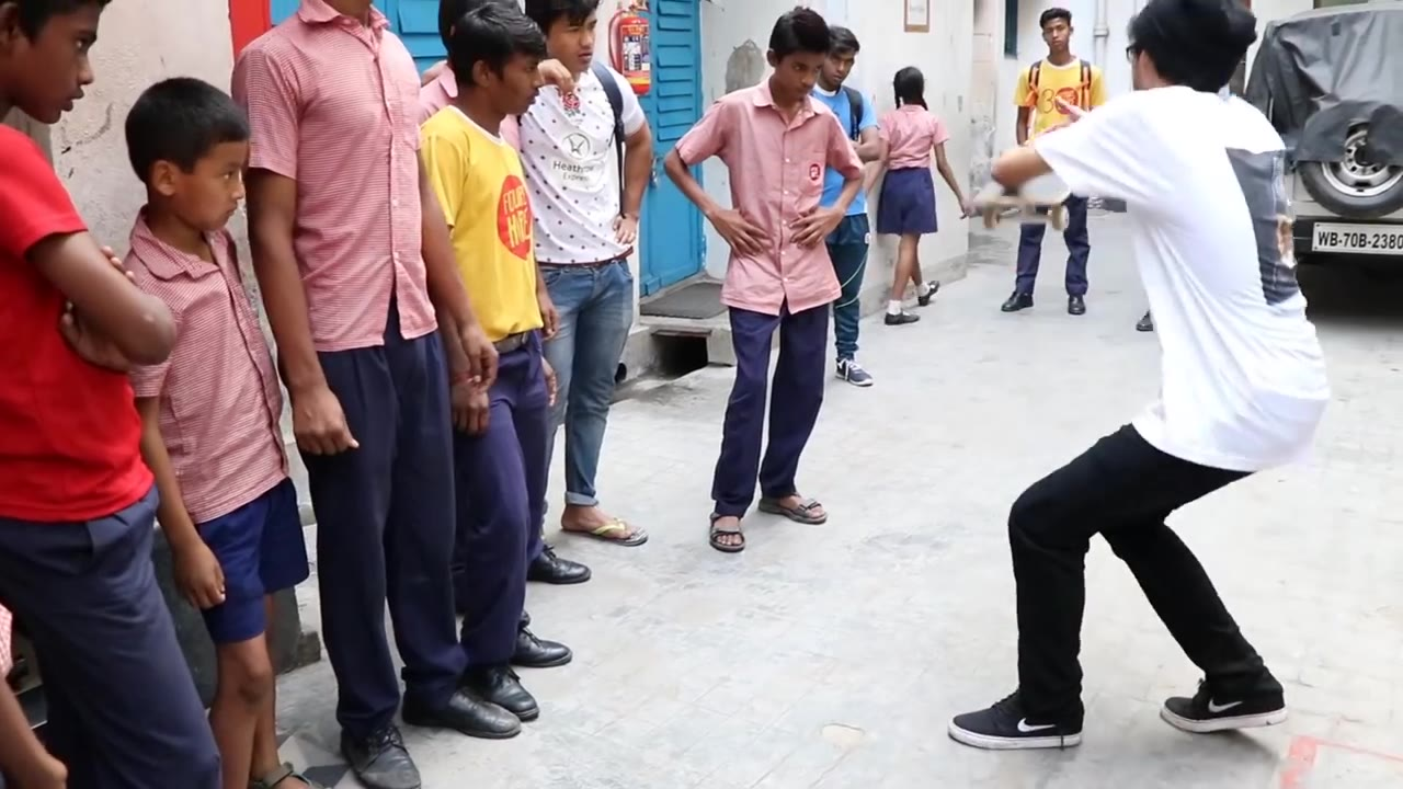 那些不曾见过滑板的世界---印度