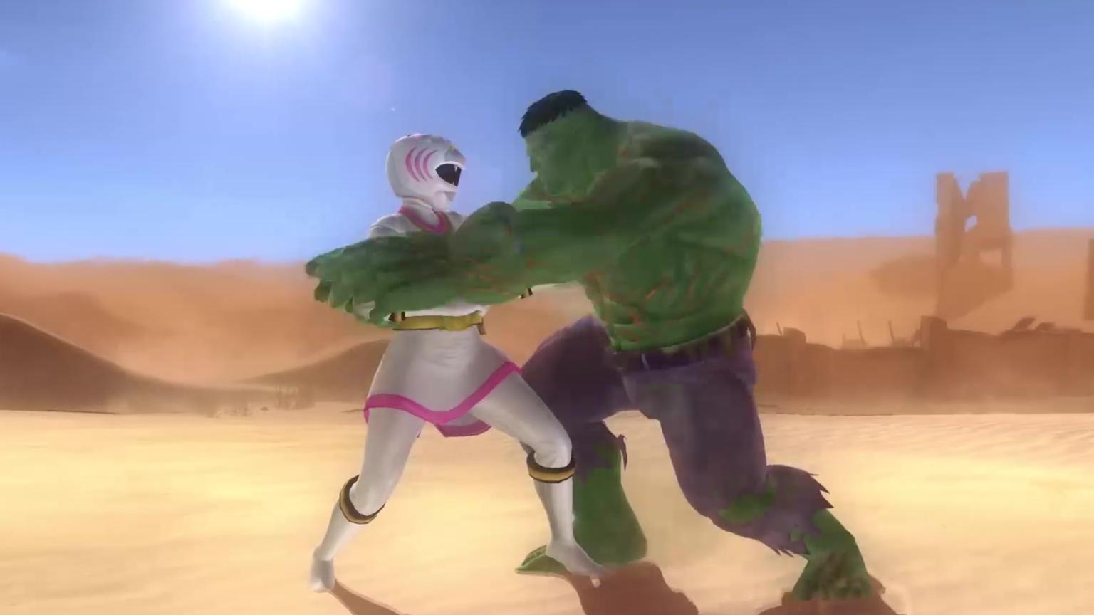 白虎大战绿巨人