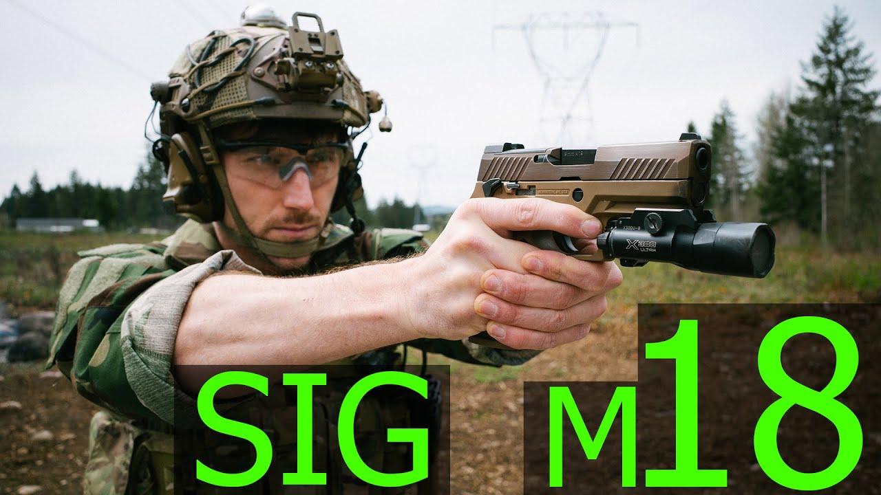 中文字幕【Garand Thumb】陆战队四等人的新玩具 SIG M18