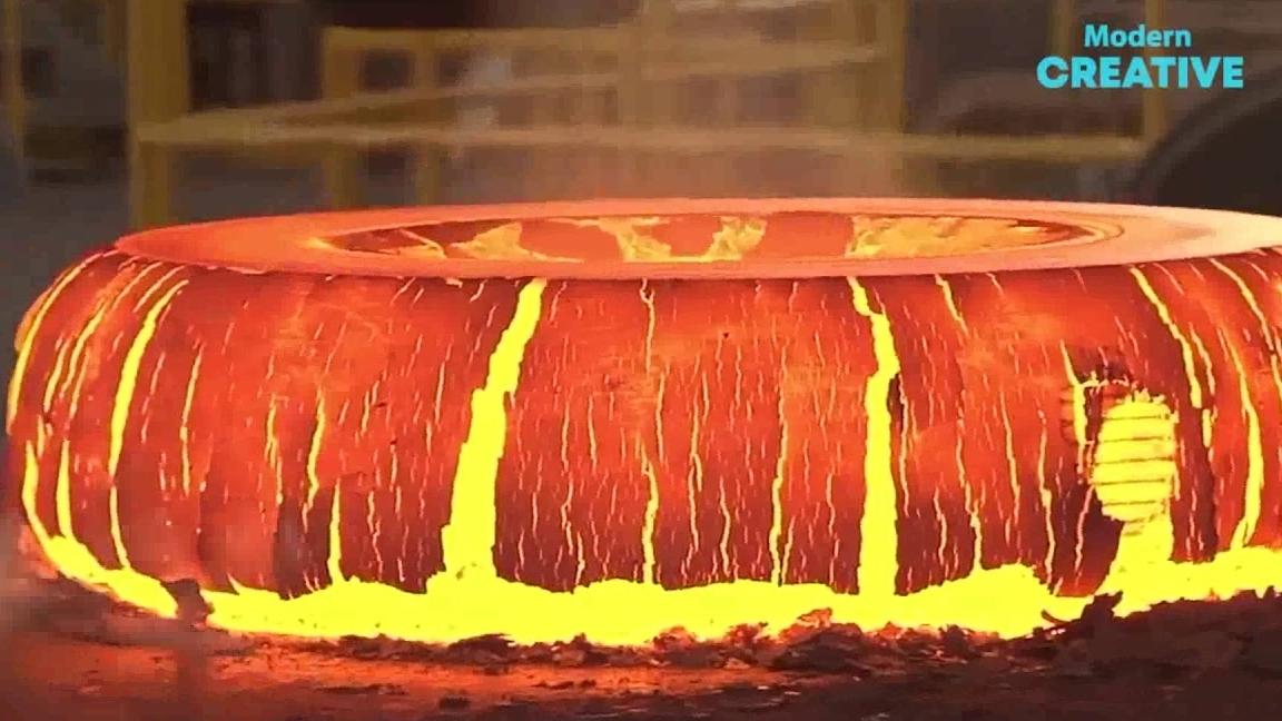 德国西马克锻造工厂高度自动化生产线:巨型钢轴&钢环制造工艺