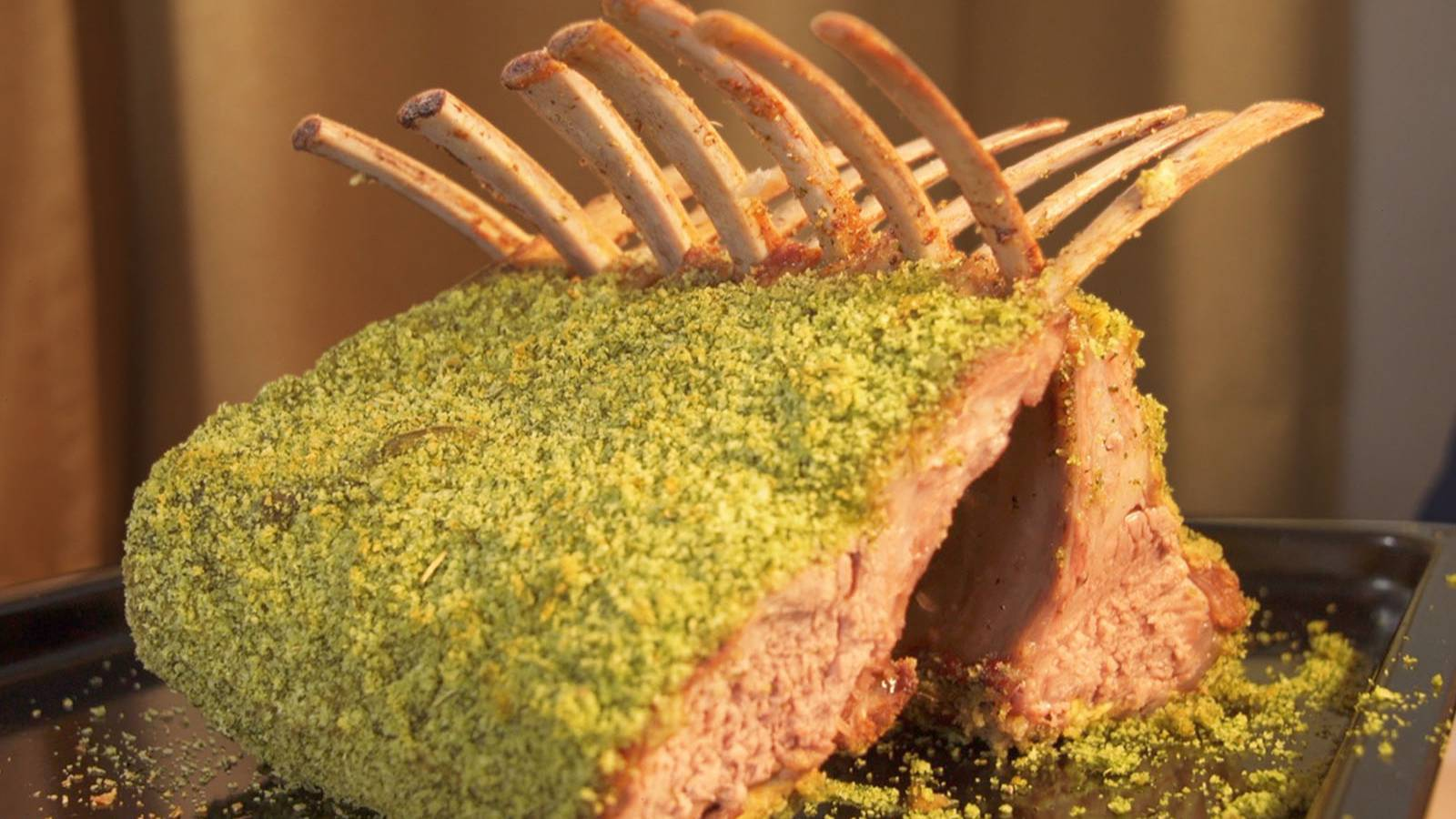 史上最绿烤羊排,原来这就是米其林的味道!【盗月社】