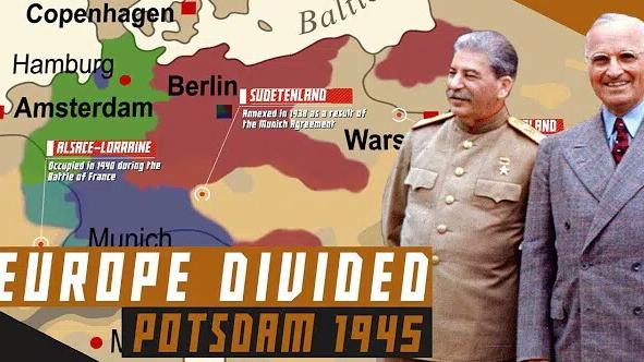 波茨坦会议与战后欧洲格局