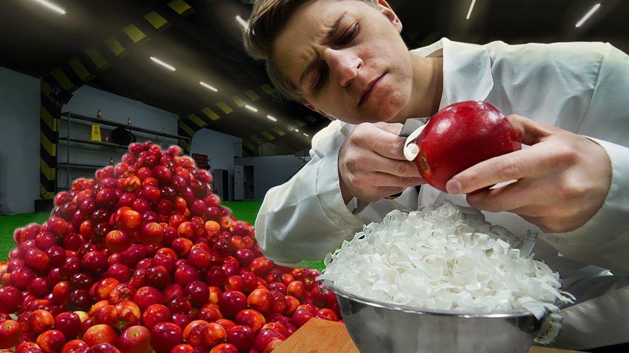 100公斤苹果能刮出多少蜡 ? 为了卖相有多少奸商对苹果动了手脚 !