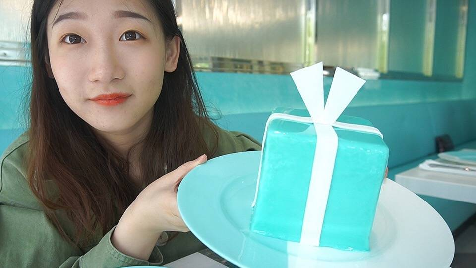 体验全球仅三家的Tiffany餐厅,一个蓝盒蛋糕就花了588!