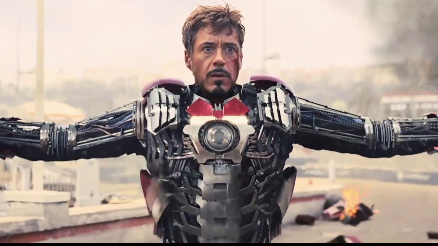【高燃混剪】钢铁侠的变身集合,一次比一次还炫酷!你最喜欢哪次