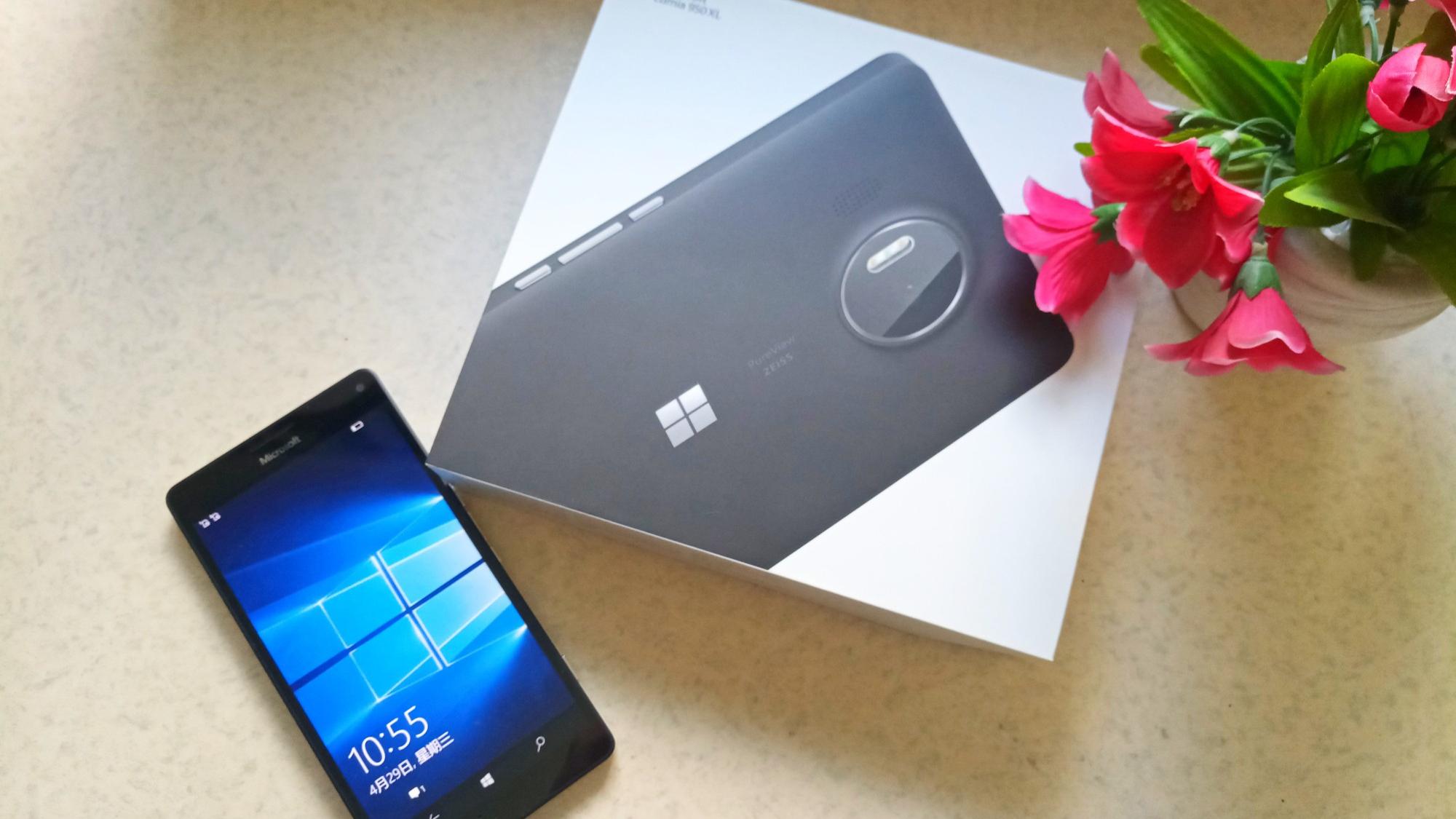 都2020年了,我竟然开箱一台微软末代机皇Lumia950XL手机
