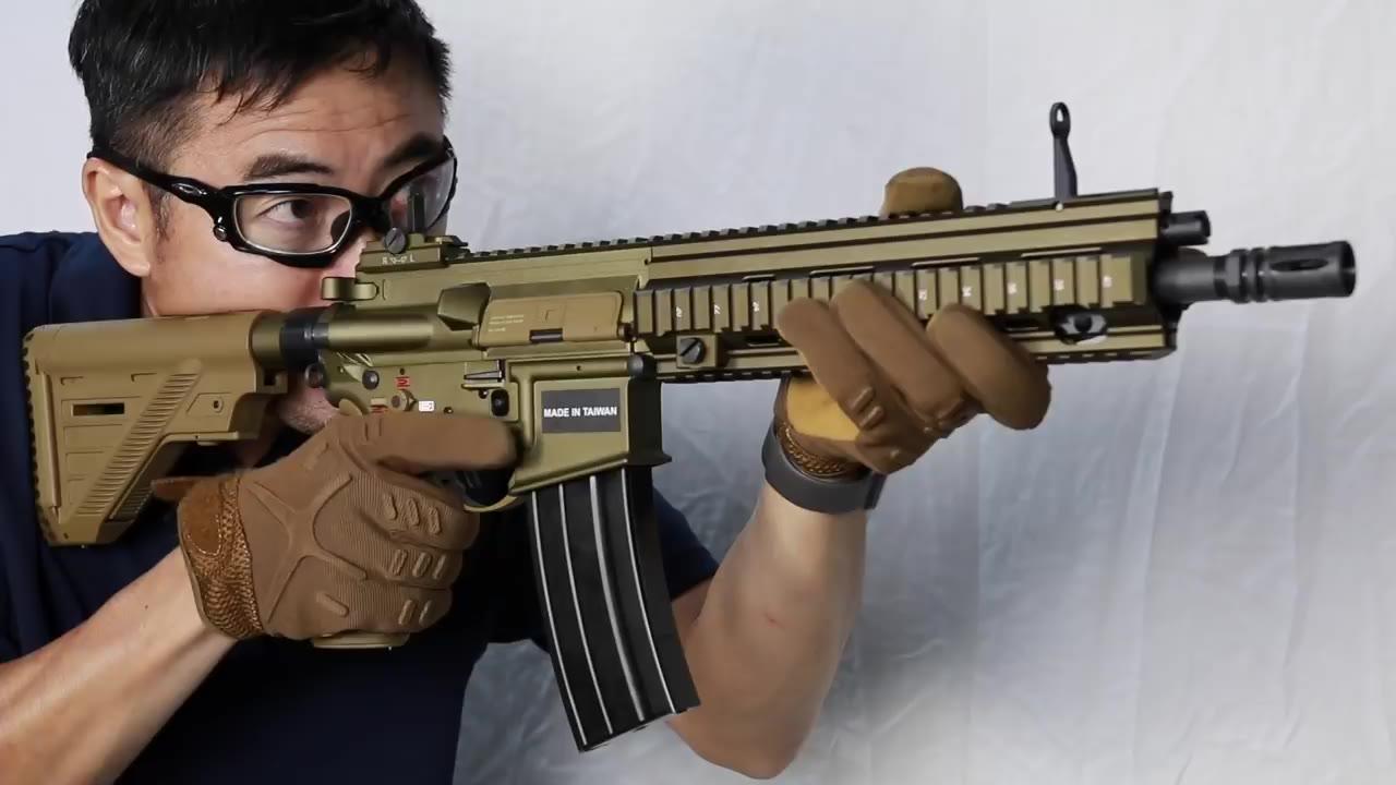 【日本壕界大叔】HK416A5VFC GBB【H&K官方】气体 评论