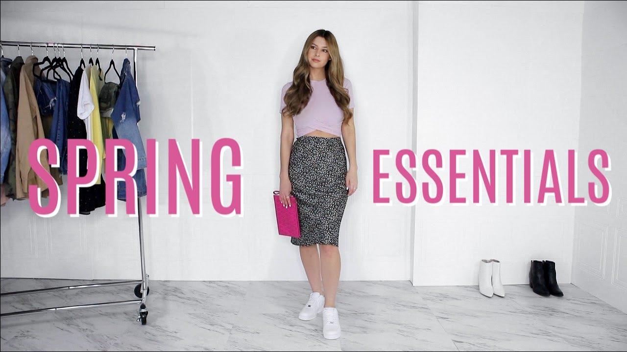 【试穿】Spring Wardrobe Essentials 2020