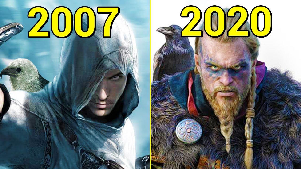 《刺客信条》系列游戏进化史(2007-2020)