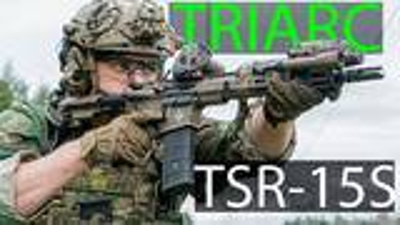 中文字幕【Garand Thumb】Triarc TSR-15S Pistol 测评