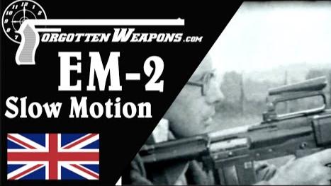 【被遗忘的武器/双语】EM-2步枪50年代试验时的高速影像 (解说附)