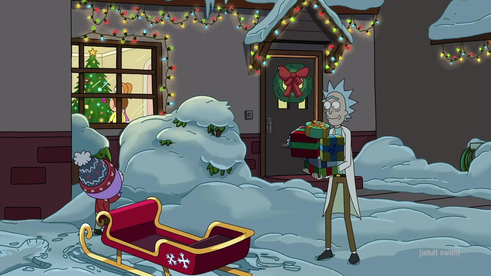 【瑞克和莫蒂】熟肉 Goomby和瑞克的圣诞节故事