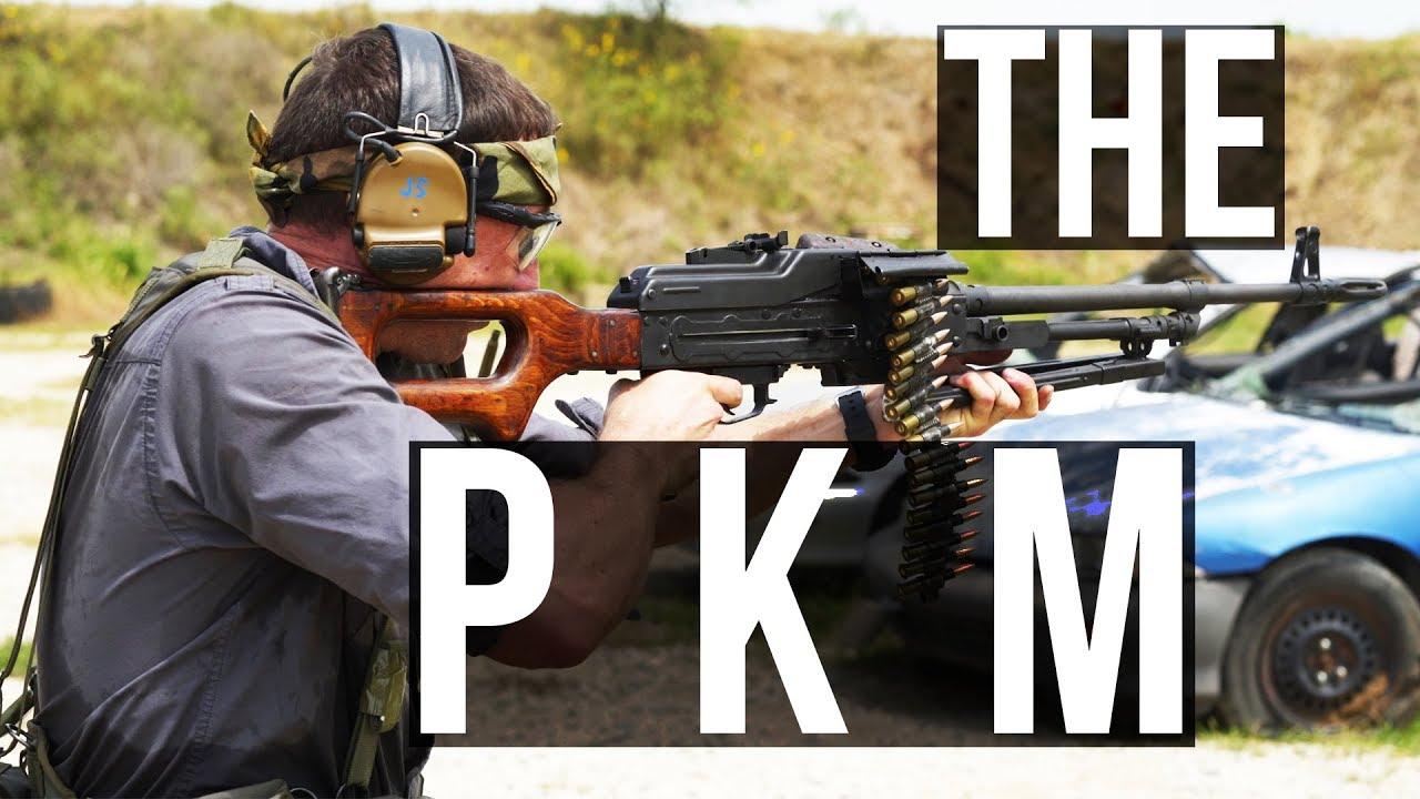中文字幕【Garand Thumb】The PKM (世界上最好的机枪)测评