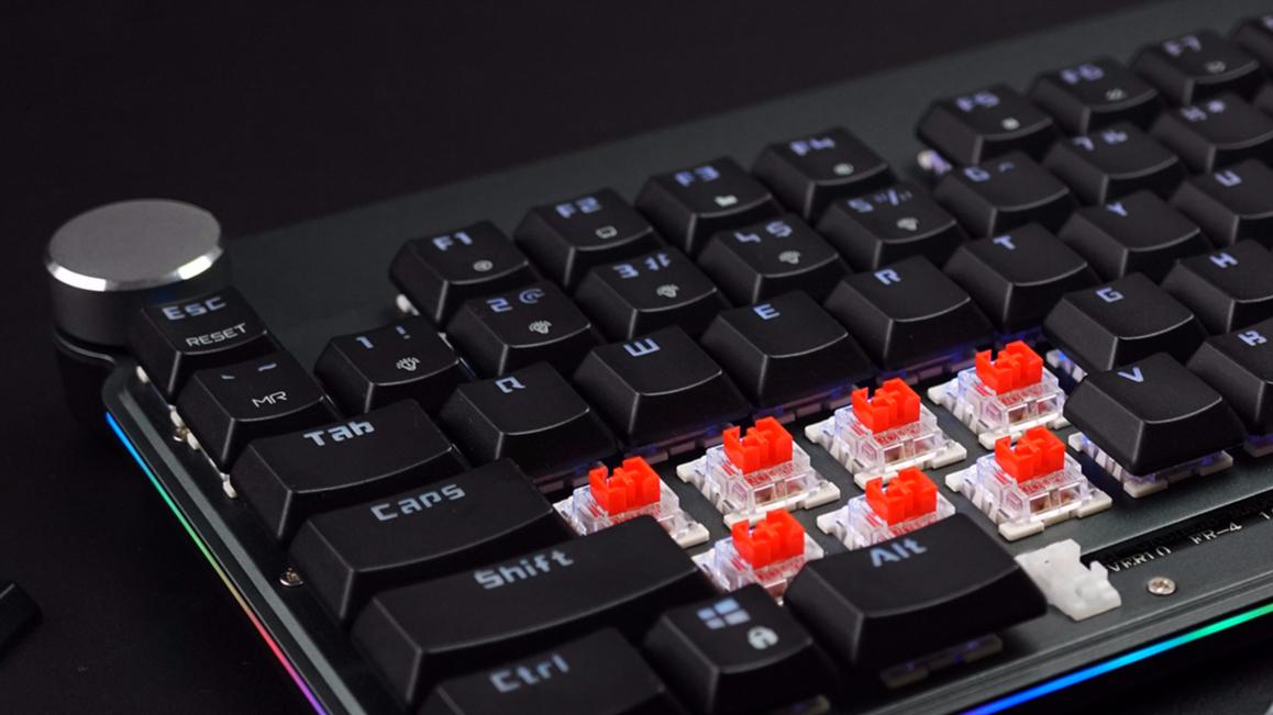 超薄就要无线,摩豹GK81 RGB机械键盘上手体验