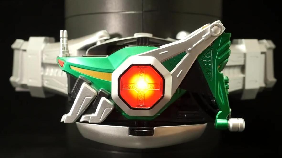 绿色假面骑士变身腰带把玩视频合集