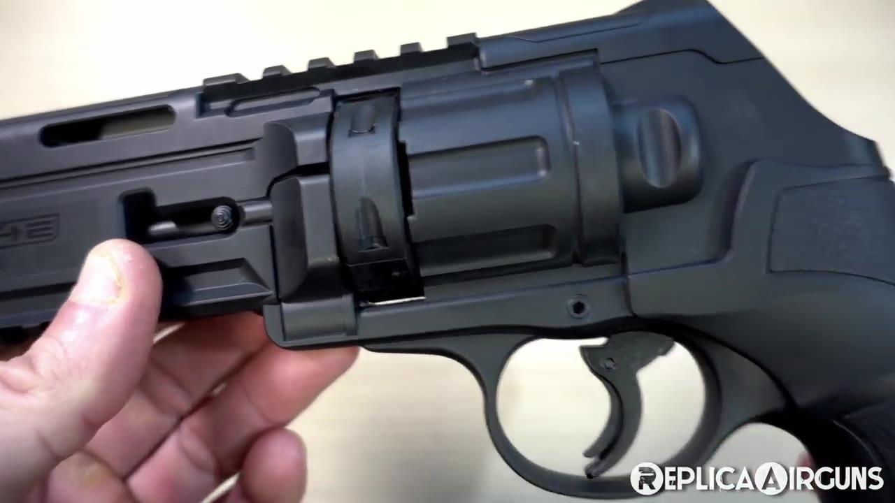 【Replica Airguns】Umarex T4E TR50 .50 彩蛋枪开箱介绍