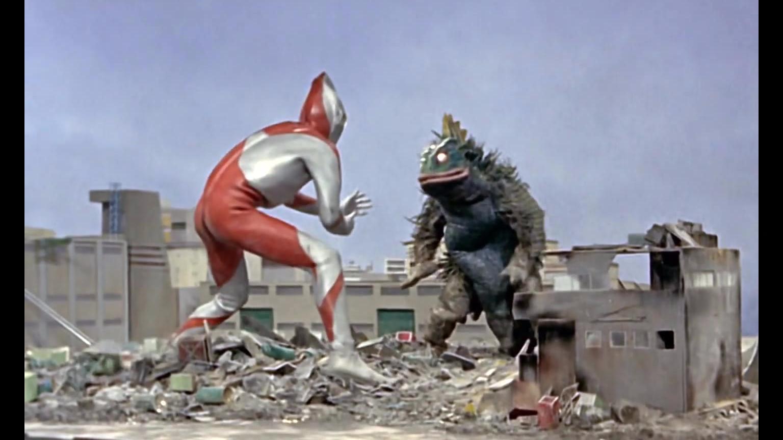初代奥特曼 怪兽系列 变异海兽 格斯拉