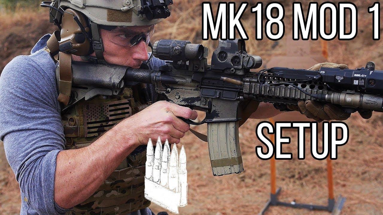 中文字幕【Garand Thumb】MK18 Mod 1 SBR配置(2017版)