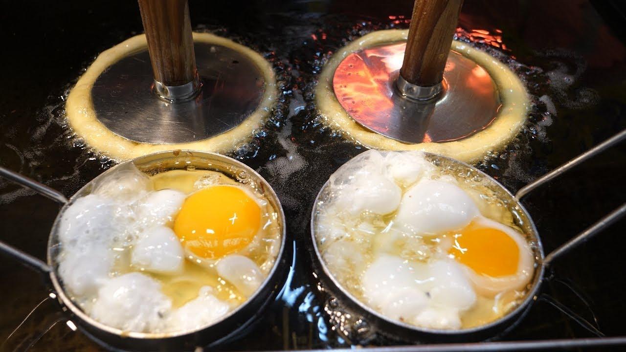 韩国这家老字号煎饼店,专注甜煎饼十几年,最简单做法最极致享受!