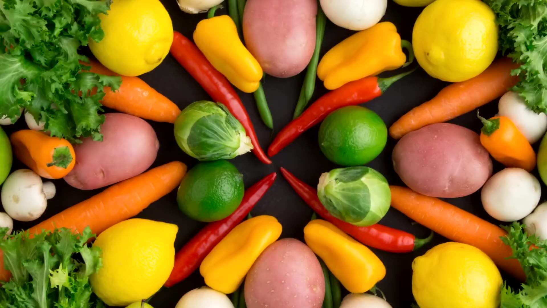 【定格动画】蔬菜与水果的世界