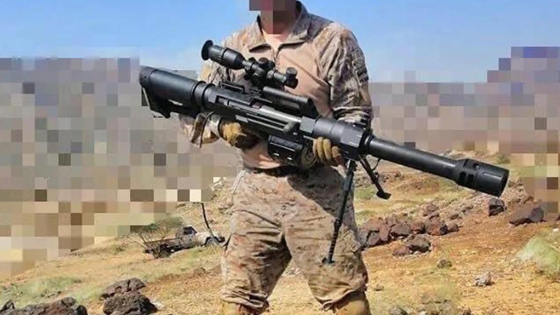 玩不起?沙特陆军手持中国狙击榴上战场,网友:胡赛狙击手危险了