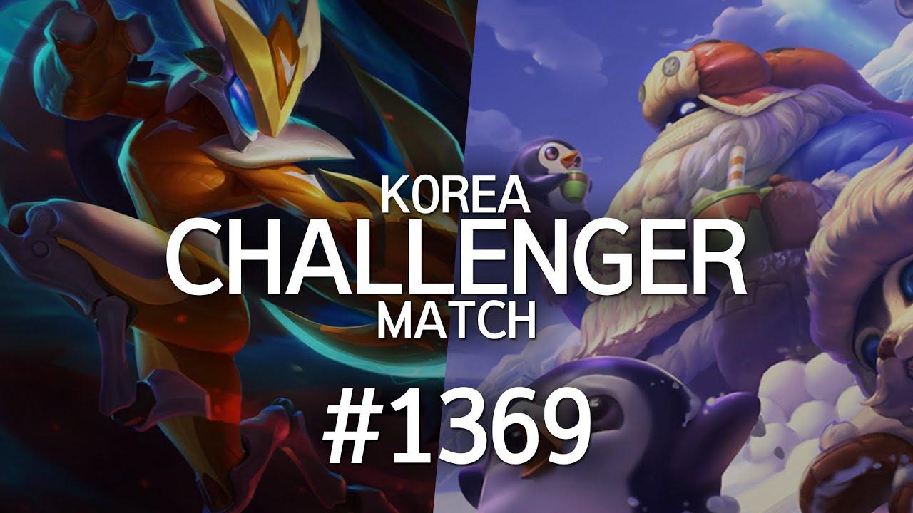 韩服最强王者菁英对决 #1369丨气抖冷
