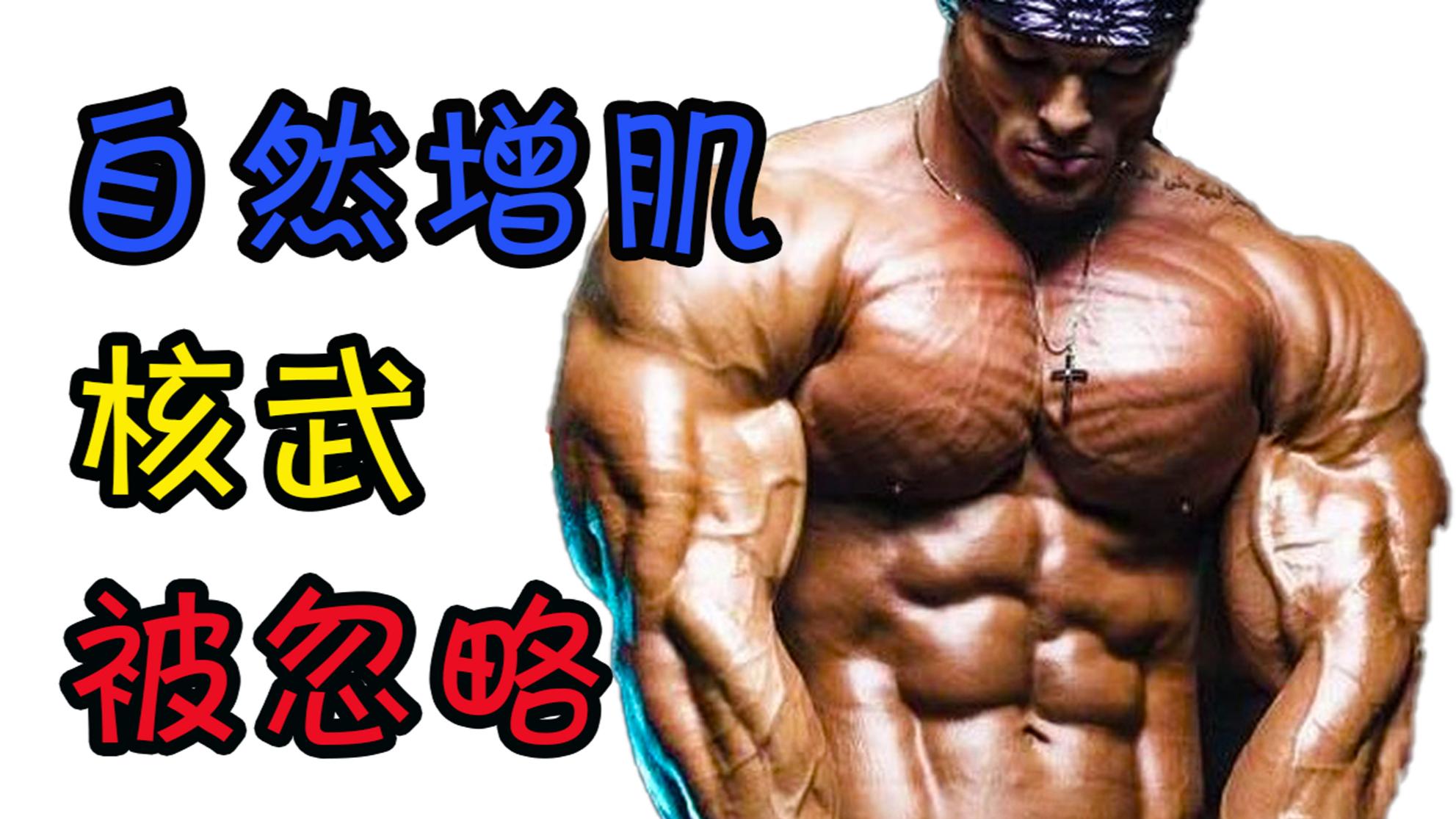 自然健身VS药物健美,教你调用2B型快肌纤维,引爆肌肉增长!【初夏健身打卡】
