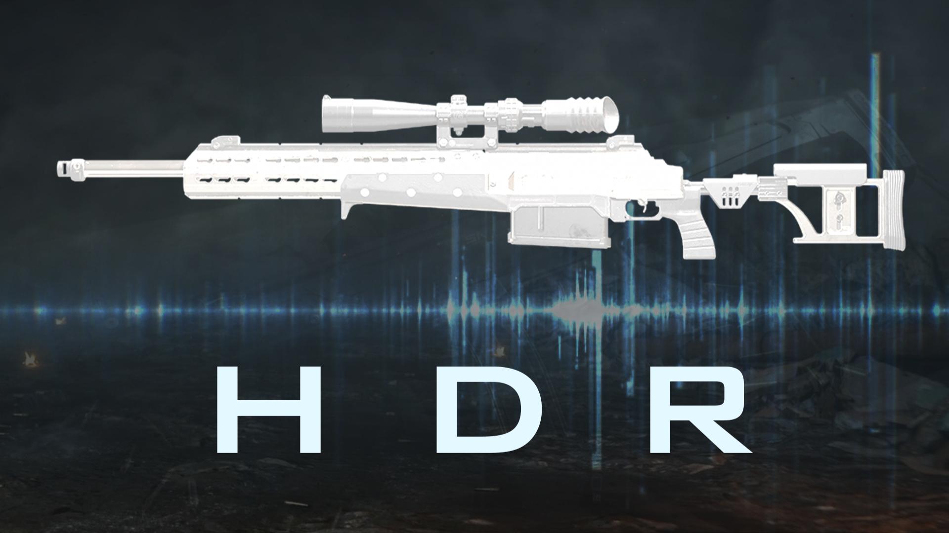 一发入魂 HDR 狙击步枪『现代战争武器指南』VOL.16