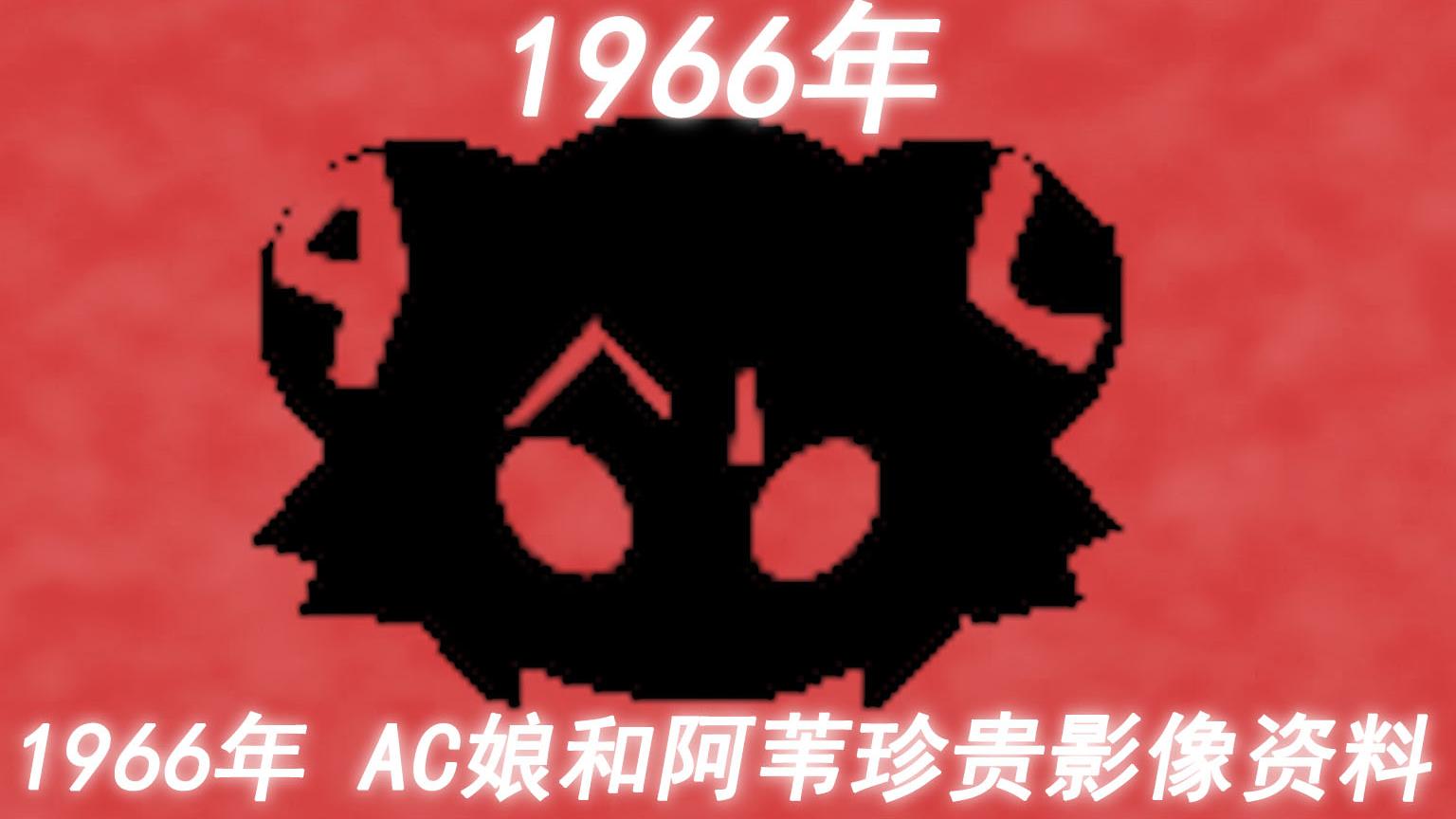1 9 6 6年 AC娘和阿苇珍贵的影像资料