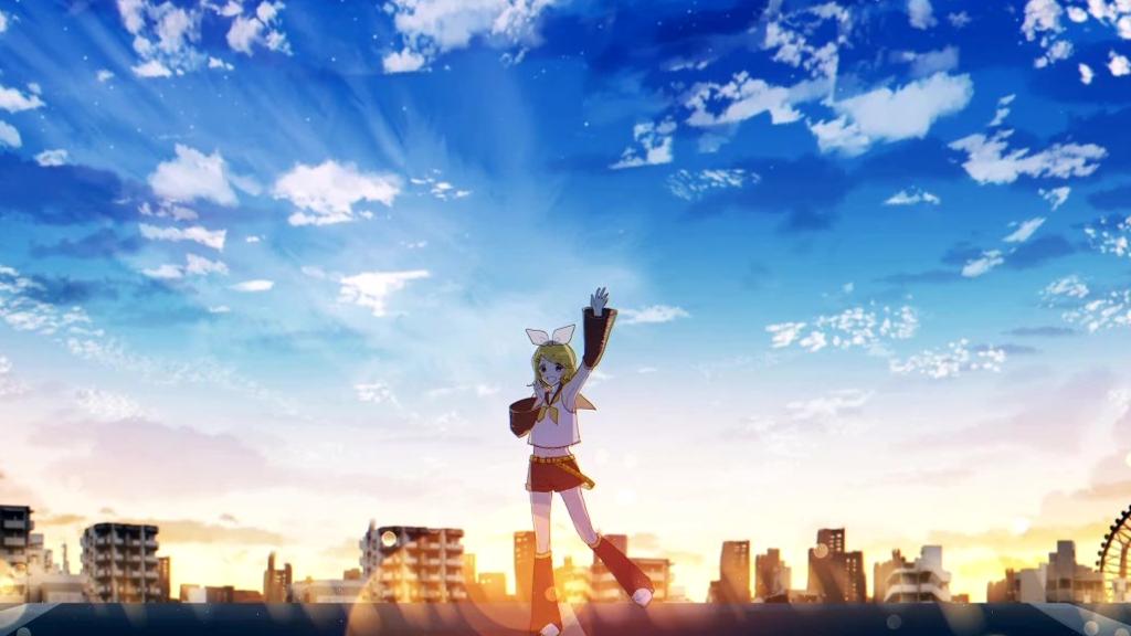 【鏡音リン】夜明け前【PV】【こもちつき(鏡音リン担当P)】