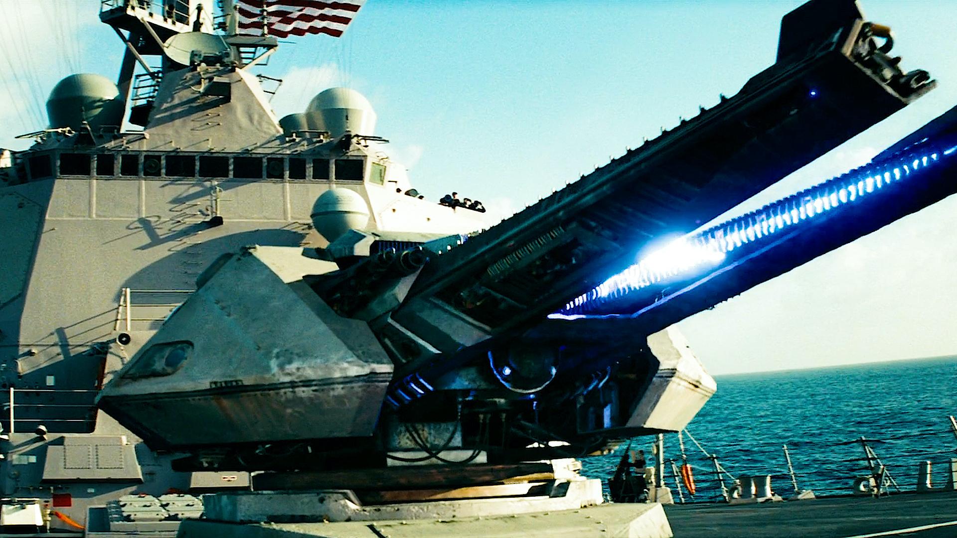 大炮武器哪家最强,盘点影视中的大炮武器,最后一个直接摧毁星球