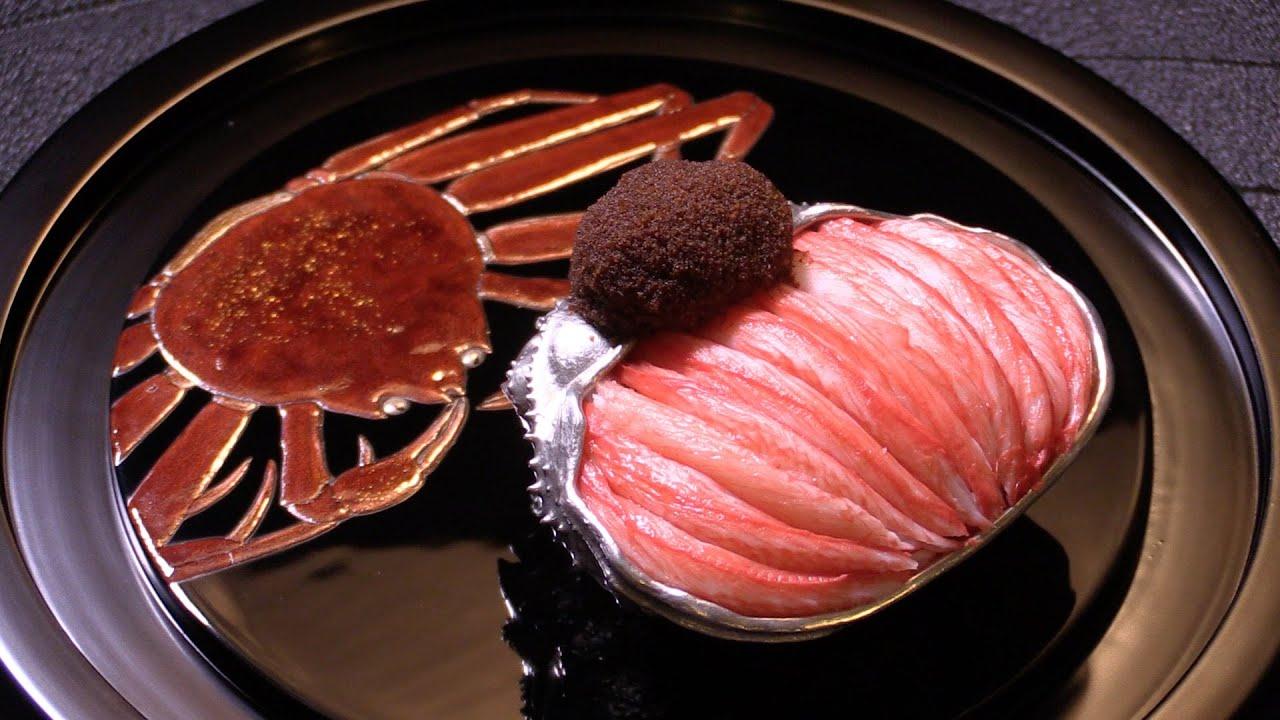 日本最高级螃蟹之一松叶蟹!