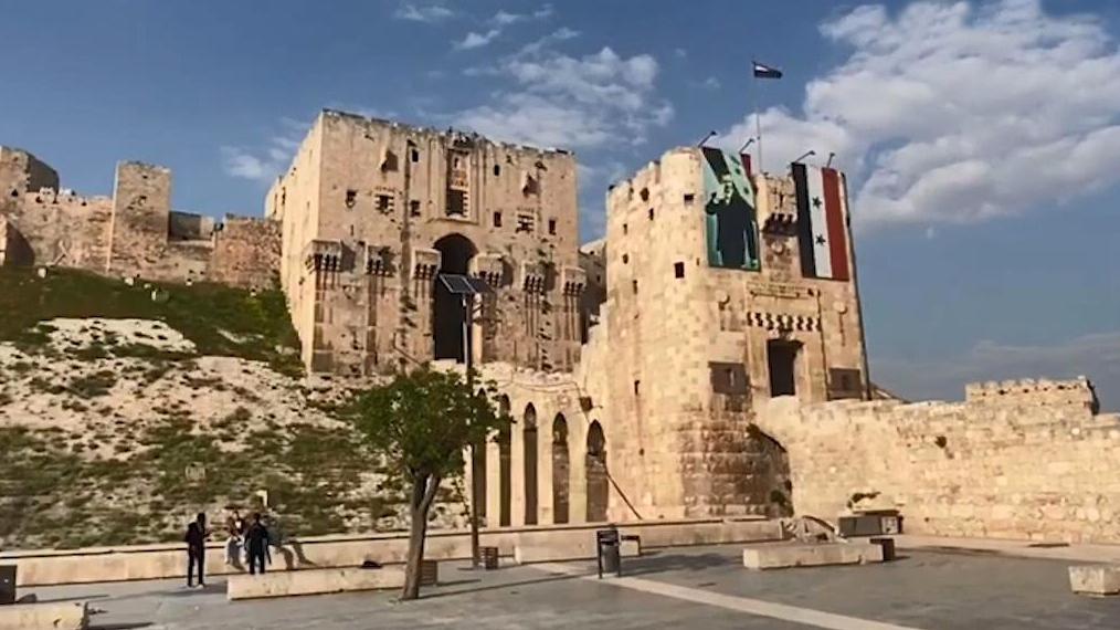 【欧肯视线】重建比较艰难!战后4年的叙利亚历史名城阿勒颇