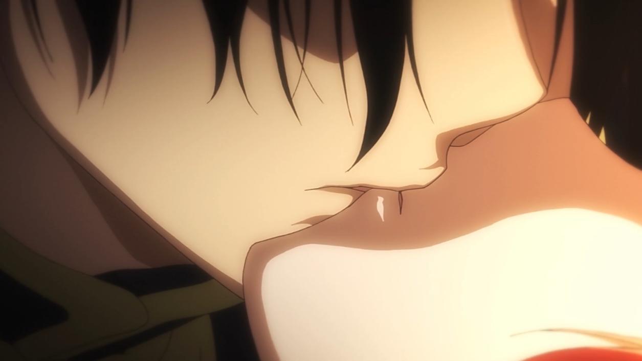 抱歉 最后一次吻你了