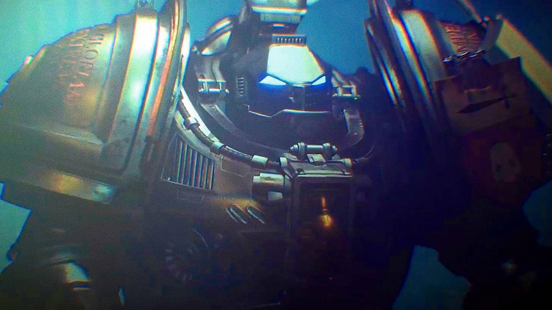 战锤40K影片 灰骑士穿戴动力盔甲全流程