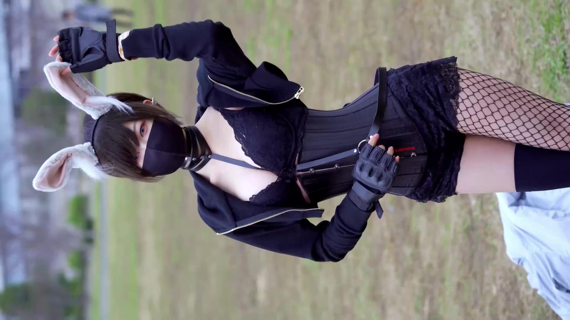 性感可爱小兔子 御伽樒小姐姐 漫展cosplay c97
