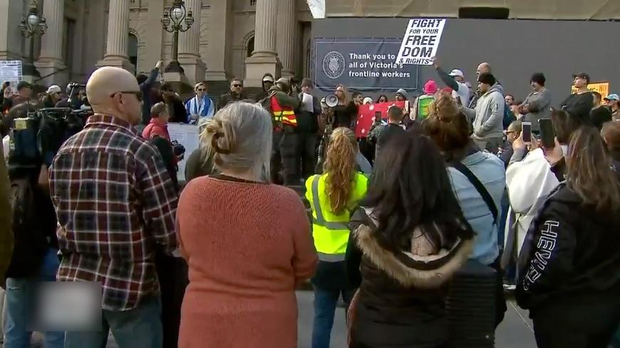 澳洲民众抗议5G技术并要求逮捕比尔盖茨,警方逮捕十人