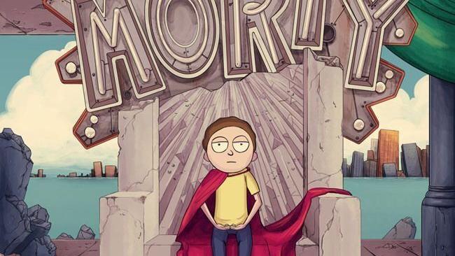 【瑞克和莫蒂】Evil Morty-[黑化莫蒂 在线Rap]