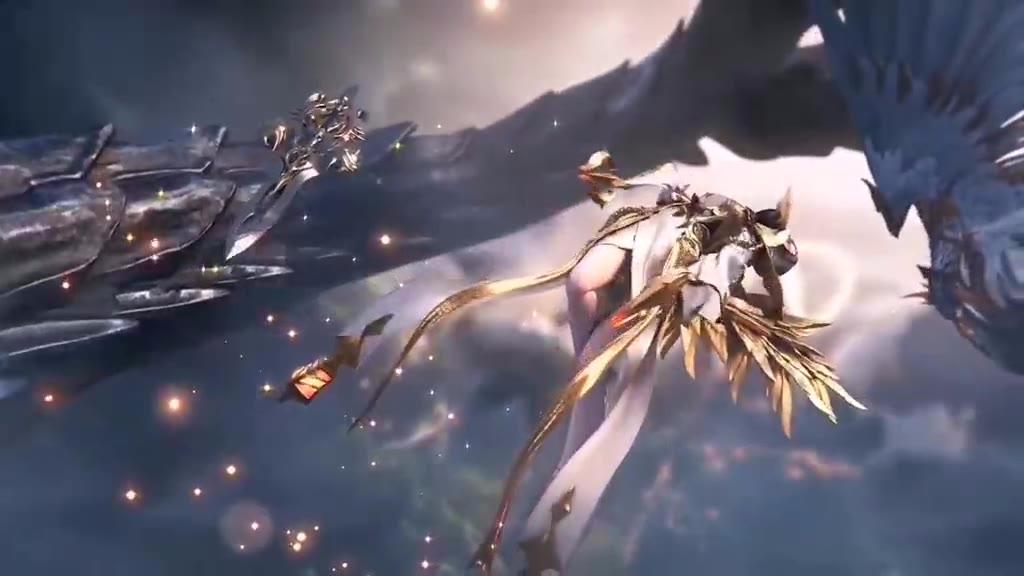 天使vs龙族之剑的战斗