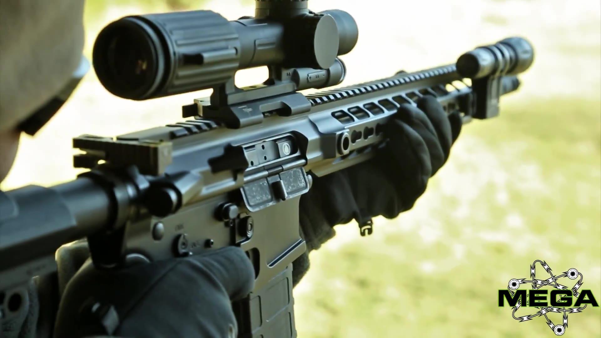 AR15实弹射击